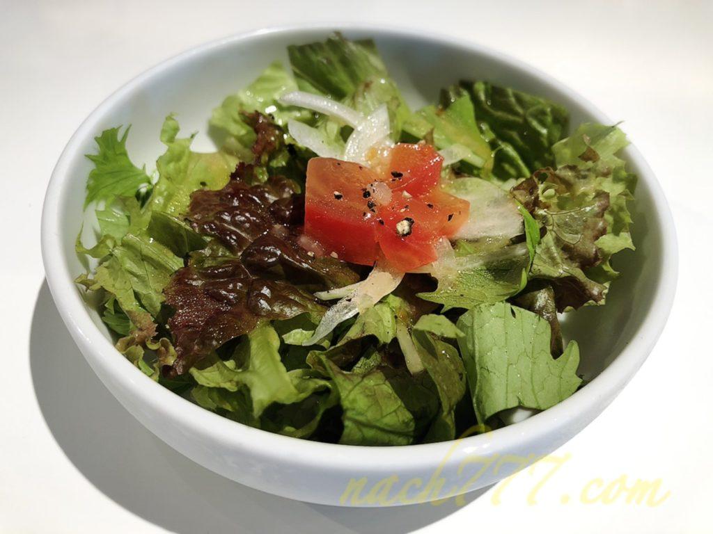 ポエータのランチセットのサラダ