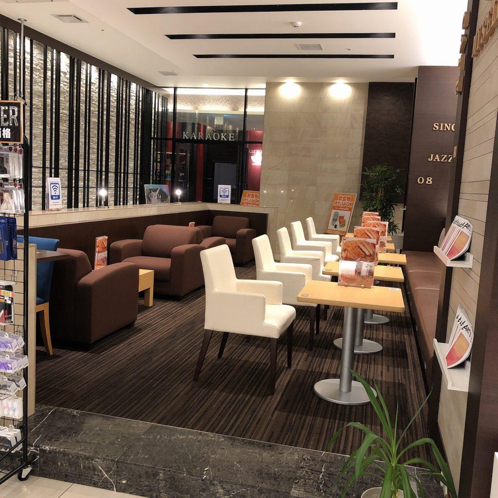 アプレシオ浜松ビオラ田町店オープンカフェ