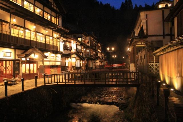 旅館の風景