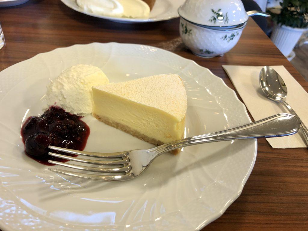 きの珈琲浜松のチーズケーキ