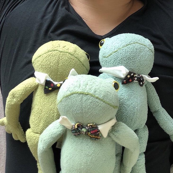 カエルのぬいぐるみ ブリトー モンスイユ