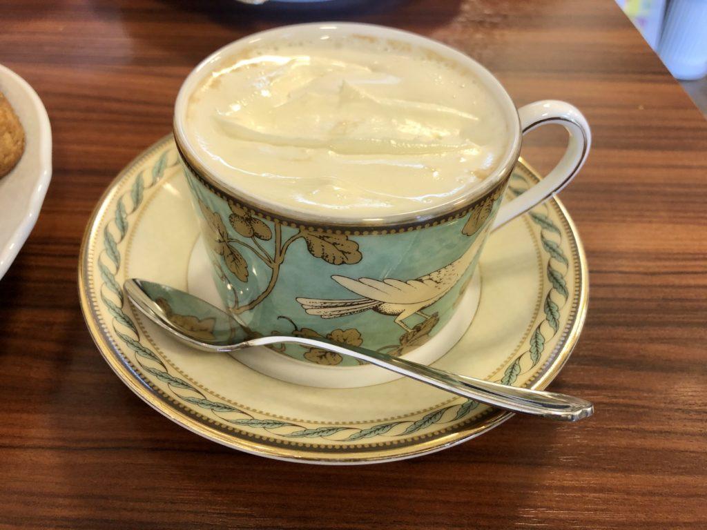 きの珈琲浜松のカフェクレーム